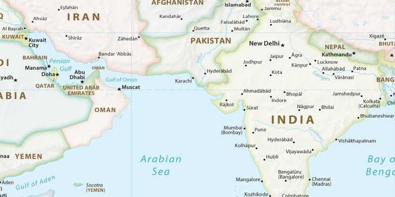 Mumbai A Terkepen