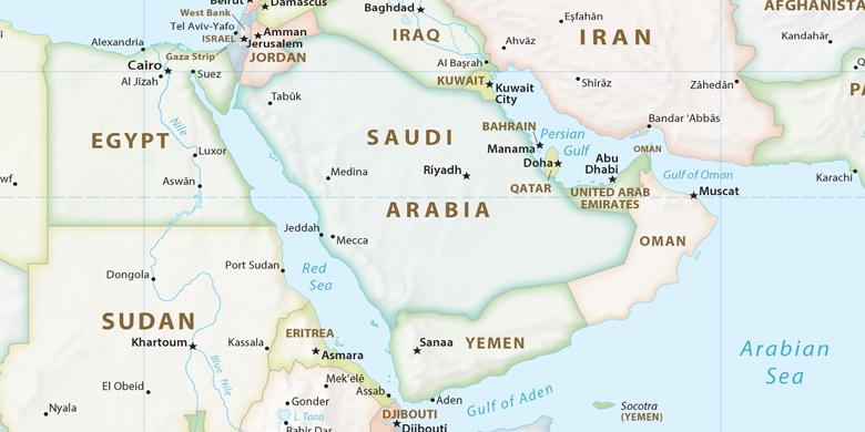 dubai elhelyezkedése térkép Dubaj a térképen